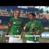 Fede Quiles y Gustavo Pratto invitan al Mundial de Pádel de México 2012
