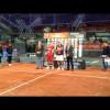 La emoción de Juani Mieres en la premiación del Master 2012