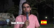 Juani Mieres invita al Mundial de Pádel de México 2012