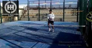 Dante Luchetti Padel: Bandeja con salto y volea