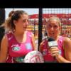 Entrevista a Valeria Pavón y Alejandra Salazar tras su paso a las semifinales de Alicante