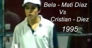 Jóvenes Belasteguín y Mati Díaz Vs Cristian Gutiérrez y Diez