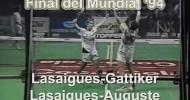 Final del Mundial de Padel 1994: Lasaigues