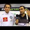 Padel Pro Tour entrevista a Bebe Auguste y Pablo Lima en Bilbao 2012