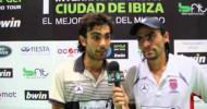 Padel Pro Tour entrevista a Lima y Mieres tras su paso a la final de Ibiza 2012