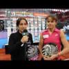 Padel Pro Tour entrevista a Iciar Montes y Cata Tenorio en la Caja Mágica 2012