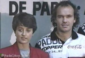 videos+padel+roby gattiker+adriana costagliola+mundial+mendoza+1994