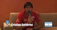 Cristian Gutiérrez invita al Mundial de Pádel de México 2012