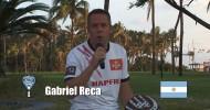 Gabi Reca invita al Mundial de Pádel de México 2012